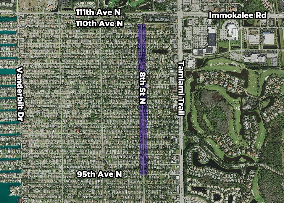8th Street map