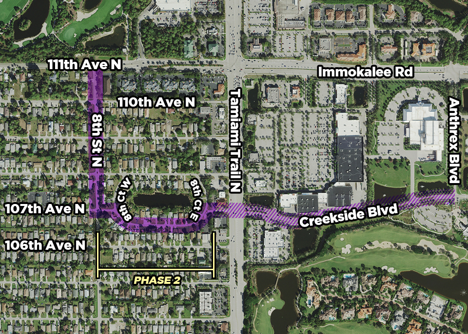 Creekside phase 2 map